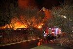 Kauno dangų nušvietė liepsnos: manieže kilo didžiulis gaisras
