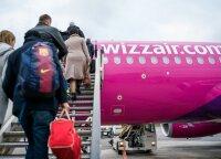 Wizz Air откроет воздушное сообщение Вильнюс - Санкт-Петербург