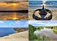 Užburiantys gamtos vaizdai – užfiksavo paskutines vasaros akimirkas