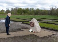Премьер Литвы почтила память жертв Второй мировой войны и тоталитарных режимов