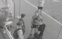 На молодого человека напали прямо перед камерами видеонаблюдения