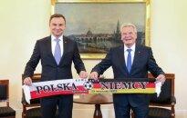 Spotkanie Prezydenta RP i Prezydenta RFN (fot. Andrzej Hrechorowicz / KPRP)
