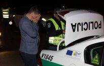 Ночной рейд: пьяный водитель рвался за руль, у него забрали ключ