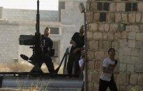 Opozicinė Laisvoji Sirijos armija (LSA) 20120809  iš dalies atsitraukė iš Salahedino rajono Alepo mieste