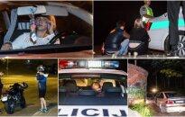 Беспокойная ночь в Вильнюсе: бежавший от полиции подросток и пьяная водитель