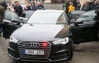 Nauja nežymėta policijos Audi A6