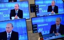 Putinas TV ekrane