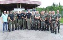 Szkolenie patroli polsko - litewskich