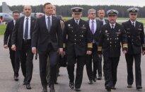 Przylot Prezydenta RP do bazy w Redzikowie (fot. Krzysztof Sitkowski