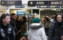 Vilniaus oro uoste pasiklausius užsieniečių kalbų prie tualeto pasidarė gėda