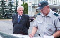 Член Сейма в Вильнюсе сбил велосипедиста
