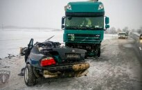 На латвийско-литовской границе в ДТП погибли два человека