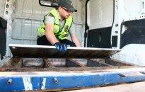 В Клайпеде таможенники задержали 600 кг кокаина: получатель - в России