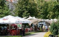 Результат запрета на продажу алкоголя: Вильнюс лишится 50 уличных кафе, опустеет взморье