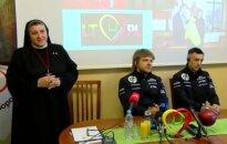 Vanagas i Rozwadowski ambasadorami Hospicjum im. bł. Sopoćki w Wilnie