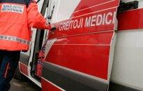 В Вильнюсе с 6-го этажа выпала девушка