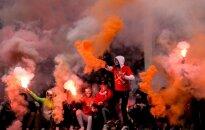 Maskvos Spartak futbolo fanai