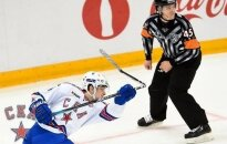 Кубок Гагарина: бутылка на льду позволила СКА вытащить игру