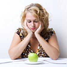 10 nemalonių pasekmių, kurias sukelia dietų laikymasis