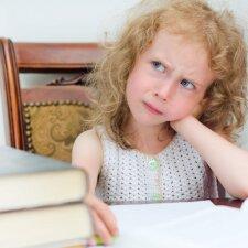 Kaip pažadinti vaiko meilę knygoms?