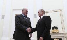 Putinas susitiko su A. Lukašenka