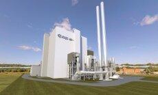 Būsimoji Vilniaus kogeneracinė jėgainė. Projekto vystytojo vizualizacija