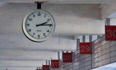 Laikrodis Vilniaus autobusų stotyje