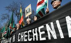 Protesto akcija prie Rusijos ambasados