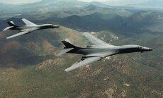 JAV bombonešiai B-1B Lancers
