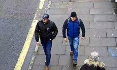 Skripalių apnuodijimu kaltinami du rusai