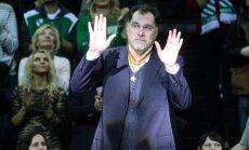 Arvydas Sabonis pagerbtas Žalgirio arenoje