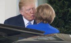 Donaldas Trumpas, Angela Merkel