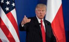 D. Trumpas Varšuvoje susitinka su A. Duda