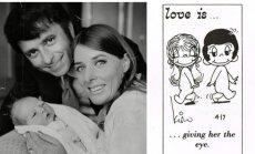 """Tikrieji """"Love is..."""" istorijos herojai: švelni, tačiau neilgai trukusi meilė"""
