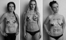 Prievartos gniaužtuose:  sukrečiančios nuotraukos  kviečia nebetylėti