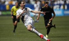 Zlatanas Ibrahimovičius ir jo debiutas Los Andželo Galaxy