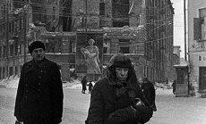 Leningrado blokada, Rusijos centrinio valstybinio kinofotdokumentų fondo archyvo nuotr., Sankt Peterburgas