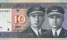 10 litų, litai, pinigai