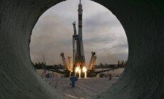 """Sojuz"" raketos startas"