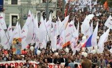 Maskvoje – opozicijos protesto eitynės