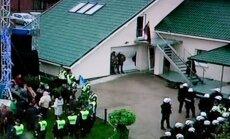 Policija aptvėrė teritoriją aplink Klonio gatvę Garliavoje