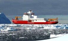 Китай спустил на воду первый ледокол собственного производства