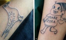 Ir kas gali šauti į galvą, kad pasidarytum TOKIĄ tatuiruotę!
