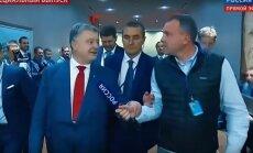 Petro Porošenka atsisakė komentuoti Rusijos propagandiniam TV kanalui