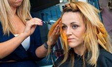 Kirpyklose nuperkami plaukai kartais iškeliauja kartu su klientėmis namo