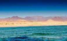 Raudonoji jūra ties Egipto pakrante