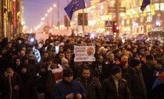 В Минске прошел массовый Марш рассерженных белорусов