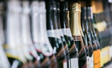 Alkoholiniai gėrimai prekybos centre