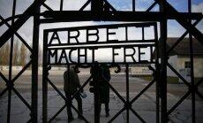 Dachau koncentracijos stovyklos geležiniai vartai