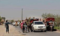 Tūkstančiai žmonių priversti bėgti iš Afganistano Helmando provincijos